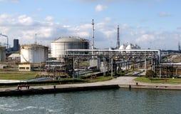 Fábrica química Foto de Stock