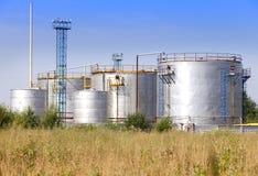A fábrica química Rússia Fotografia de Stock