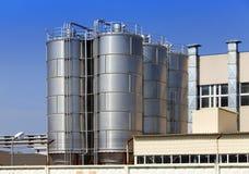 A fábrica química Rússia imagens de stock