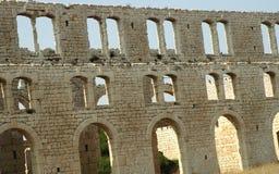 Fábrica Ruins2 da telha fotos de stock royalty free