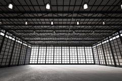 Fábrica vazia interior Imagem de Stock Royalty Free