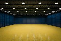 Fábrica vazia interior Imagem de Stock