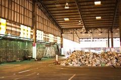 A fábrica velha imagens de stock