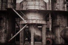 Fábrica velha Imagens de Stock