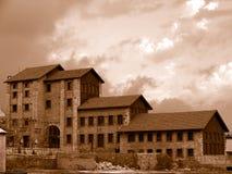 Fábrica velha Foto de Stock