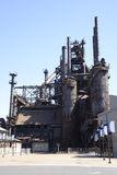 Fábrica velha de Bethlehem Steel em Pensilvânia Foto de Stock Royalty Free