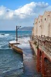 Fábrica velha do atum de Favignana Imagem de Stock Royalty Free