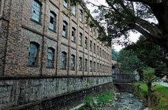 Fábrica velha Petropolis fotografia de stock