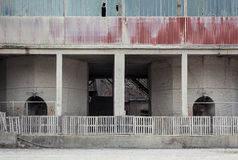 Fábrica vieja abandonada Foto de archivo