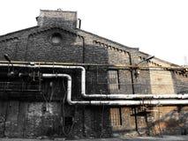 Fábrica vieja de los abandones Imagen de archivo