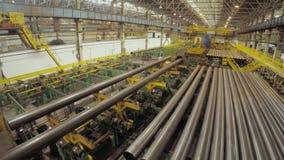 Fábrica vieja de producción auto de los componentes Warehouse del tubos de aluminio la producción de tubos del metal Soldadura de metrajes