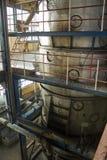 Fábrica vieja del azúcar Fotografía de archivo
