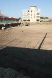 Fábrica vieja Proletarul en Bacau Fotos de archivo libres de regalías