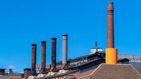 Fábrica vitoriano Foto de Stock Royalty Free