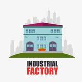Fábrica y maquinaria de la industria Foto de archivo