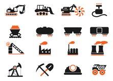 Fábrica y símbolos de la industria Fotografía de archivo