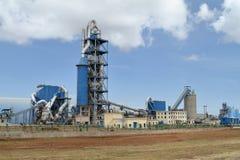 Fábricas e industria en Etiopía imagen de archivo libre de regalías