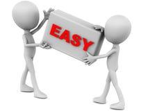 Fácil Imagem de Stock Royalty Free