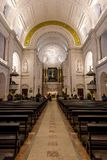Inside Basilica of Our Lady of the Rosary royalty free stock image