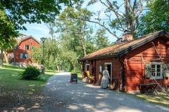 FärgargÃ¥rden露天博物馆, Norrköping 免版税图库摄影