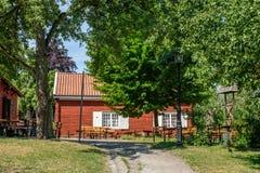 FärgargÃ¥rden露天博物馆, Norrköping 库存照片