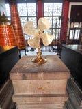 Fã da oração em Che Kung Temple Foto de Stock