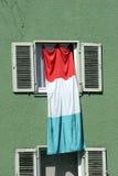 Fã de futebol italiano Fotos de Stock Royalty Free