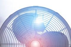 Fã de ventilação do metal Imagem de Stock