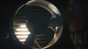 Fã de ventilação de giro lento Produto do fã bonde uma corrente do ar filme