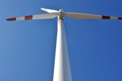 Fã do gerador de poder do moinho de vento Foto de Stock Royalty Free