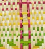 Fã feito do bambu Fotografia de Stock