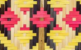 Fã feito do bambu Imagens de Stock Royalty Free