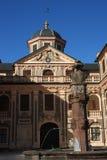 Förch favorito del rastatt del castello Fotografia Stock