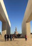 FÃ ¡ tima chruch w Portugal Obraz Royalty Free