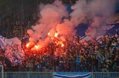 Fãs de FC Dnipro Foto de Stock