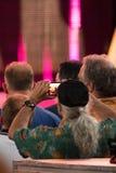Fãs de STYX no concerto Califórnia no julho de 2016 Fotos de Stock Royalty Free