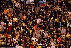 Fãs dos Boston Bruins Fotos de Stock