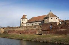 FăgăraÅŸ citadell Fotografering för Bildbyråer