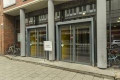 Fähigkeit der Arznei an LMU-Universität in München stockfoto