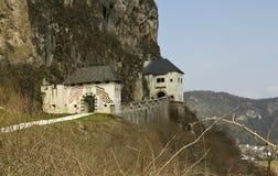 The Fähnrichtor gate of Hochosterwitz Castle Royalty Free Stock Image
