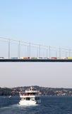 Fähre auf dem Bosporus (Istanbul) stockfoto