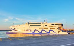 Fähre des Seajets-Meister-Jet 1 lizenzfreie stockfotos