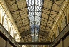 Fähre-Gebäude-Innenraum Stockfoto