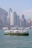 Fähre in Hong Kong Stockfoto