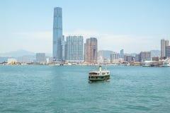 FÄHRE, HONG KONG Lizenzfreie Stockfotografie