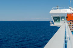 Fähre im Ägäischen Meer Stockbilder