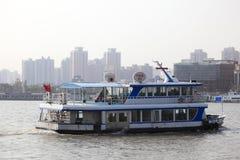 Fähre in Shanghai, China Lizenzfreies Stockbild
