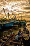 Fähre in Thailand Stockfotos