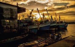 Fähre in Thailand Stockbilder
