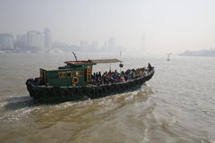 Fähre, Xiamen, China Lizenzfreies Stockbild